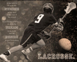 Lacrosse Motivational Poster Custom Design by MereImageDesign