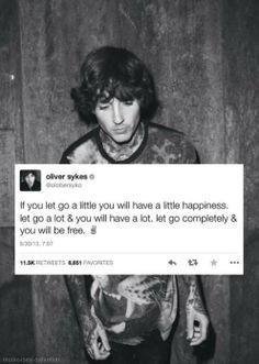Oliver Sykes quote More