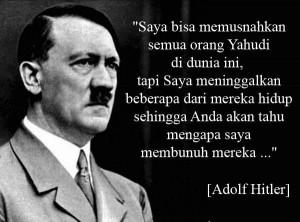Diktator Jerman, Adolf Hitler diyakini tewas bunuh diri di sebuah ...