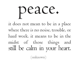 Peace Quotes With Pictures
