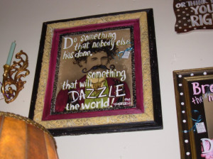 Portraits Quotes And Sayings: Dazzie Quote With Picture Framed On The ...