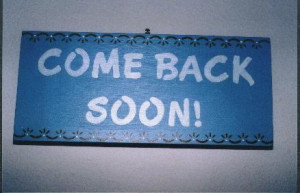 come back soon a poem by cynthia come back soon my voice cracked as i ...