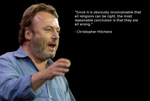 Christopher Hitchens on religions