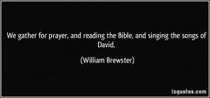 More William Brewster Quotes