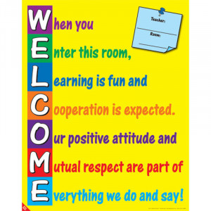 Home Welcome Poster
