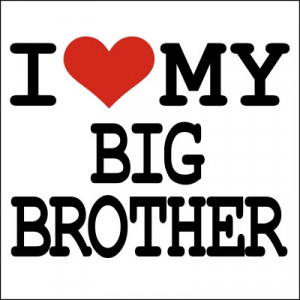 Love My Big Brother T-shirt
