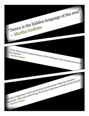 Dance Quotes Martha Graham