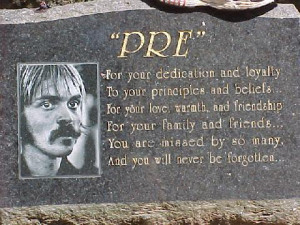 Who was Steve Prefontaine?