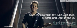 Hunter hayes~I want crazy cover