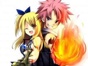 Natsu Dragneel Lucy and Natsu