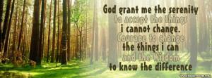 Serenity Prayer God Grant Me The Cover