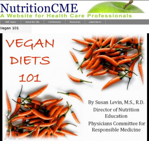 New Vegan Diets 101 Course (Health Professionals Earn Credit!)
