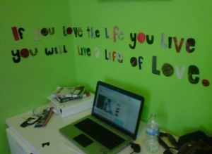 green, life, love, quote, reality