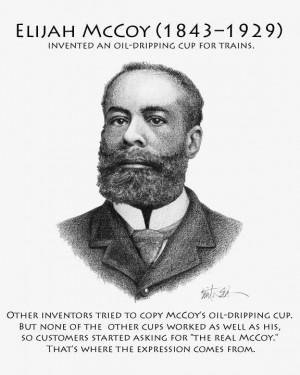 Famous Black American inventor - Elijah McCoy #RooseveltPTO28Days # ...