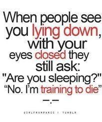... wake me up. (GirlFromParis on tumblr via Silly Little Irish Girl