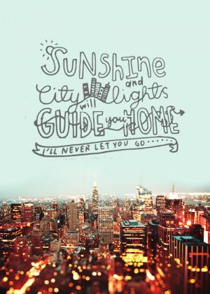 doodling quotes (2/?) | sunshine and city lights - greyson chancephoto ...