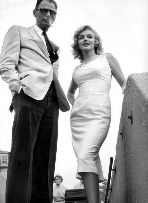marilyn monroe wedding dress | Marilyn Monroe & Arthur Miller ...