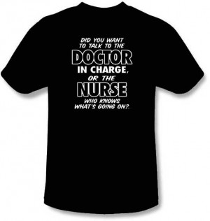 Nurse Knows What's Going On T-Shirt