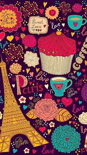 Vintage Love In Paris Patterns