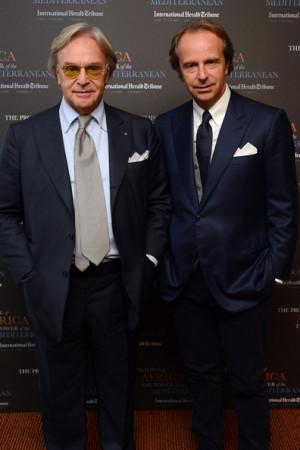 Diego Della Valle and Andrea Della Valle 2012 International Herald