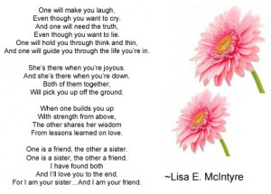 Sister Friend Best Sister In Law Poems