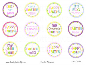 Easter Sayings Quot Squares
