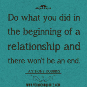 ... the beginning of a relationship – Positive Quotes about relationship