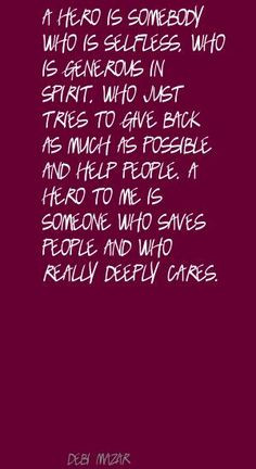 Selfless And Sayings