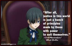 kuroshitsuji quotes ~ - black-butler Photo