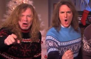 Jimmy Kimmel: Megadeath and Jenny Lewis Make a Christmas Album (Video)