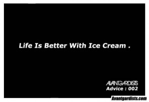 epic #Quote : ice cream