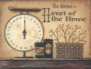 Heart Of A Home by artist Pam Britton