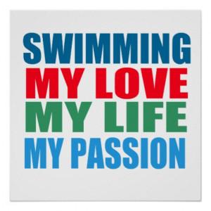 La natación es mi pasión poster