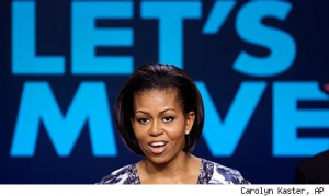 Michelle Obama Unveils Anti-Childhood Obesity Action Plan