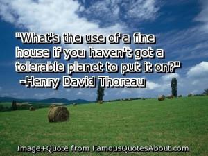 Favorite Sustainability Quotes
