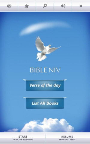 Bible Verses NIV HD - Free (Android) Screenshots, screen capture