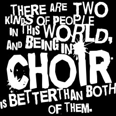 Choir T Shirts