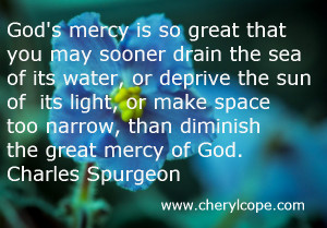 Quotes About Gods Mercy