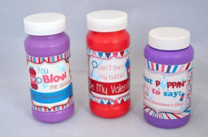 Valentine's Day Printable Bubble Wrappers, adorable bubble themed ...