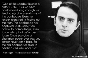 Carl Sagan #Quote #Bamboozle