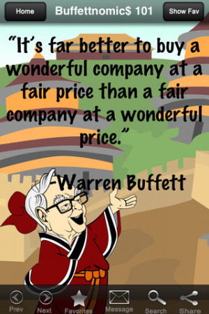 Buffettnomic$ 101: The Money Mantras of Warren Buffett (Quotes) 1.0