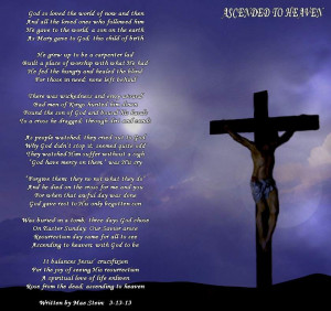 easter in heaven poems 40 different easter hymns easter poem1 easter ...