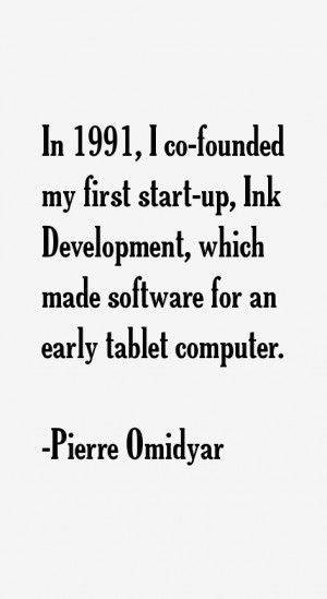 Pierre Omidyar Quotes & Sayings