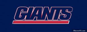 New York Giants Football Nfl 14 Facebook Cover