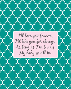 ... you forever frameable baby shower sayings in baby blue or light pink