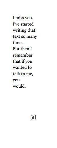 am talking to you. I'm not going to hurt you any more. I'm still ...