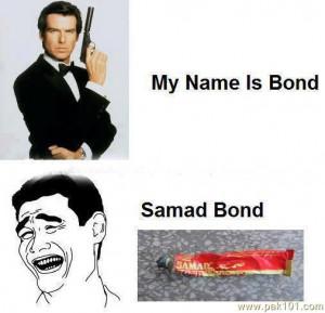 funny james bond
