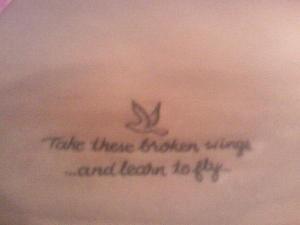 Beatles Quote - Cute Girl Tattoo