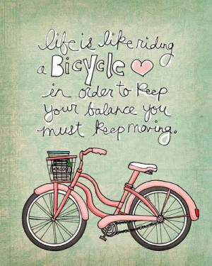 quotes,balance,bicycle,illustration,life,quote ...