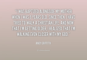 Andy Griffith Quotes